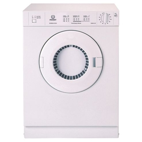 Indesit IS31V Freestanding Vented Tumble Dryer, 3Kg Load, D Energy Rating, White