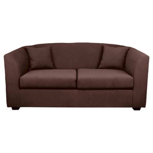 Stonebridge Fabric Sofa Bed, Chocolate