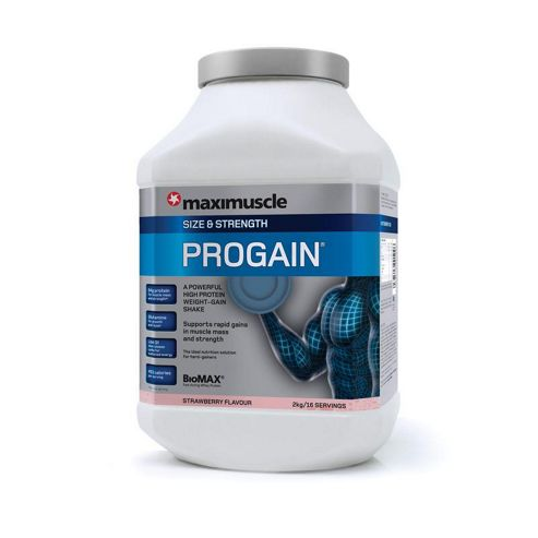 Maximuscle Progain 2kg Strawberry