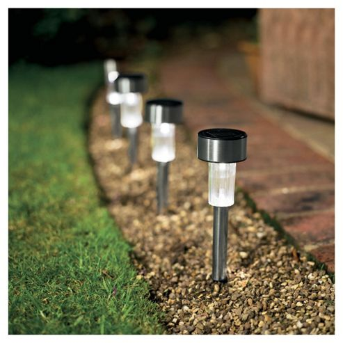 Tesco stainless steel solar marker 12 pack