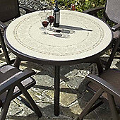 Nardi Colosseo 120cm Ravenna Table in Coffee