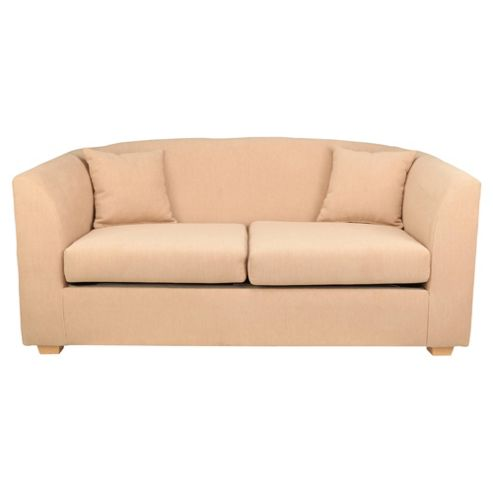 Stonebridge Fabric Small 2 seater  Sofa, Natural