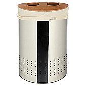 Brabantia 40L Selector Laundry Bin, Chrome