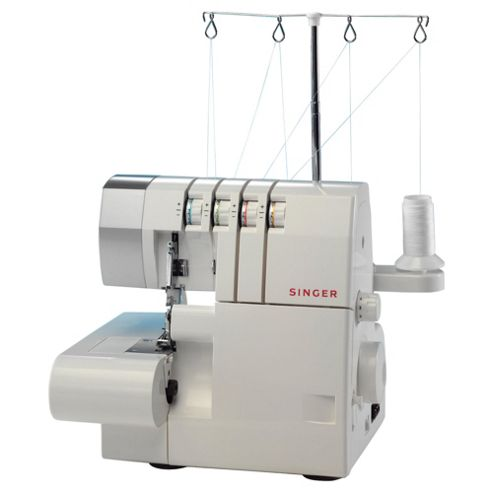 Singer 14SH754 Mechanical Sewing Machine & Overlocker- White