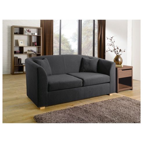 Stonebridge Small Fabric Sofa, Graphite