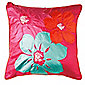 Tesco Applique cushion-Magenta