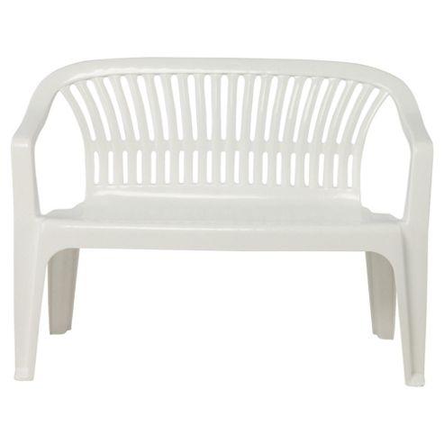 White Plastic Outdoor Benches Picture Pixelmari Com