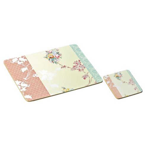 V&A Set Of 6 Standard Mats & Coasters - Victoria