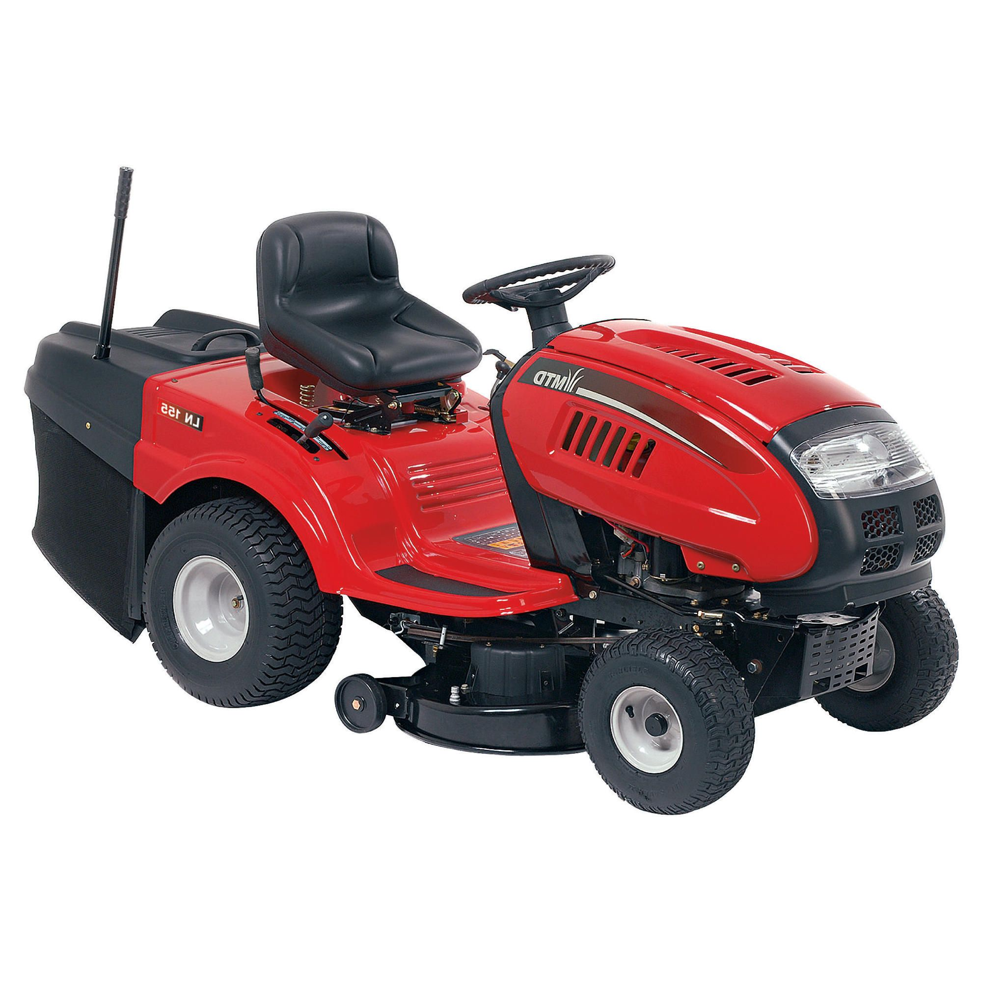 MTD 15.5hp Rear Discharge Lawn Tractor LN155 at Tesco Direct