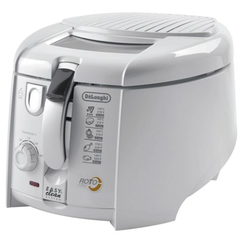 De'Longhi F28311 Roto Fry Deep Fryer with Easy Clean System