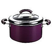 This Morning by Prestige 5.7L Non-stick Stockpot, Purple