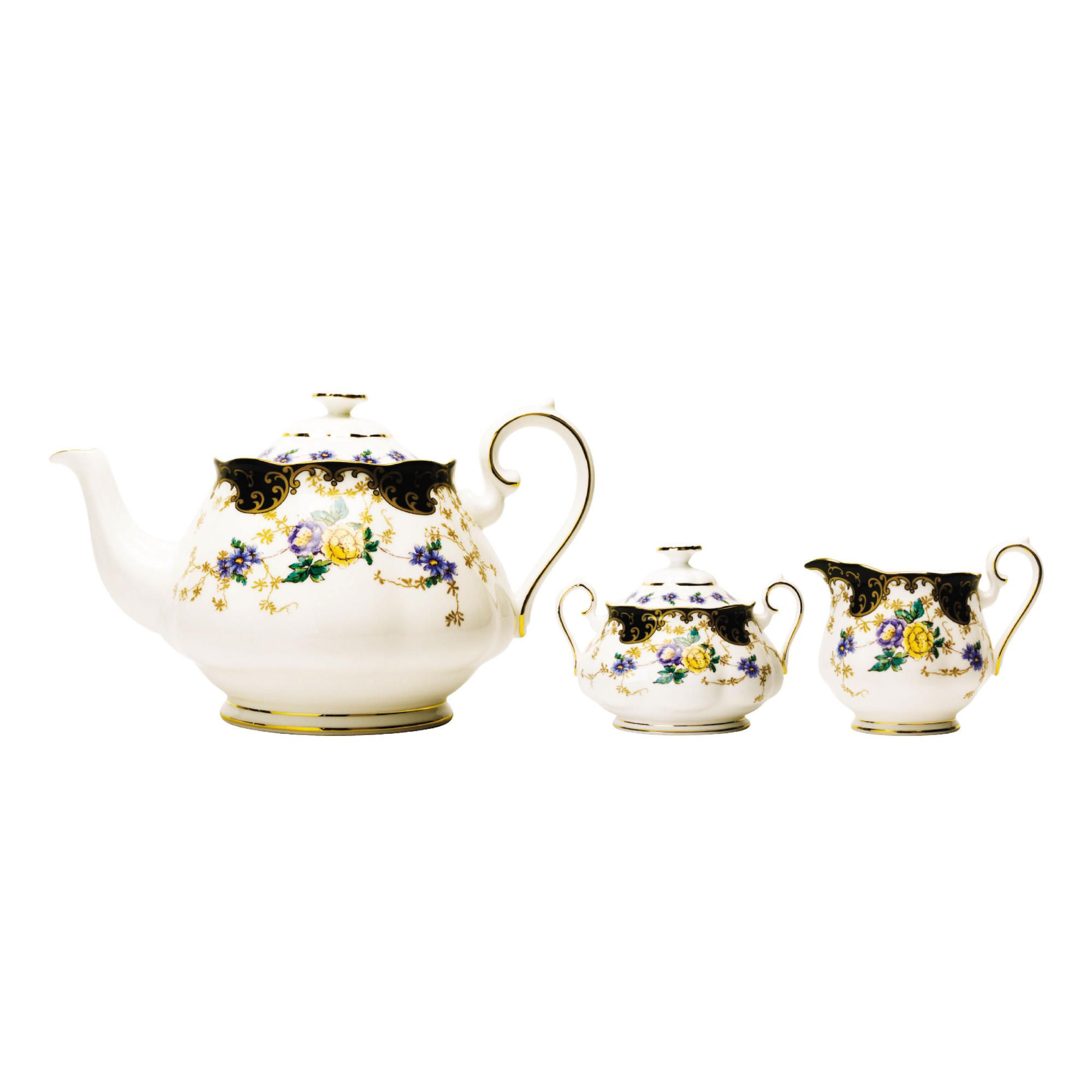 Royal Albert 100 Years Duchess 1910 3 piece Tea Set