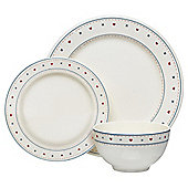 Tesco Haven 12 Piece, 4 Person Dinner Set