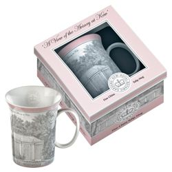 Kew Gardens Gift Boxed Aviary Fine Bone China Mugs