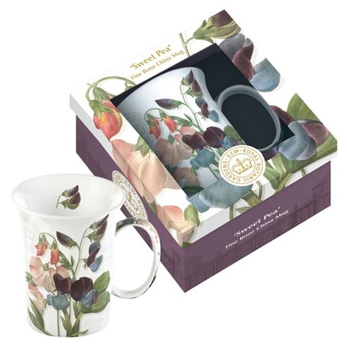 Kew Gardens Gift Boxed Sweet Pea Fine Bone China Mugs