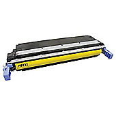 Tesco THPC9732A Yellow Laser Toner Cartridge (for HP C9732A/ HP 645A Yellow)
