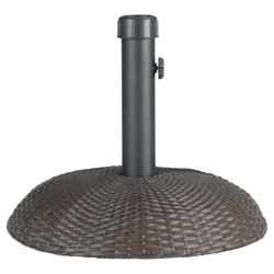 Parasol Base Rattan, Brown