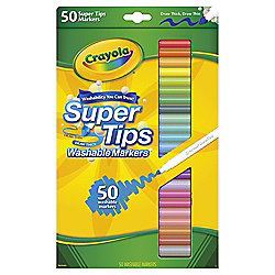 Crayola Super Tips Washable Marker Pens 50 Pack
