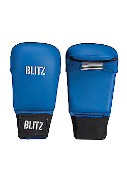 Blitz - PU Elite Mitt Without Thumb - Blue