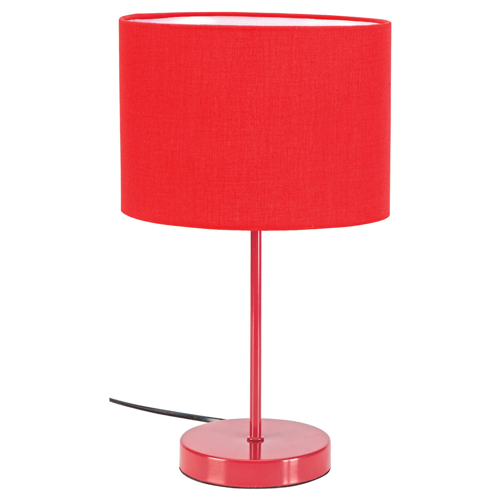 Tesco Lighting Funky Matchstick Table Lamp Red