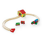 Brio Railway Set, wooden toy