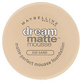 Maybelline Dream Matte Mousse Foundation Sand