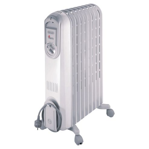 De'Longhi VV550920 Oil Filled Heater Grey