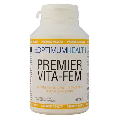 Optimum Health Premier Vita Fem 90 Tabs
