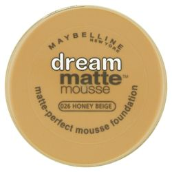 Maybelline Dream Matte Mousse Foundation Honey Beige