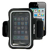 Pro-Tec Athlete Fitness Sport Armband Pouch for iPhone 3GS/4/4S - Black