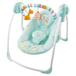 Bright Starts Savanna Dreams Travel Swing