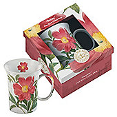 Kew Gardens Gift Boxed Peony Fine Bone China Mugs