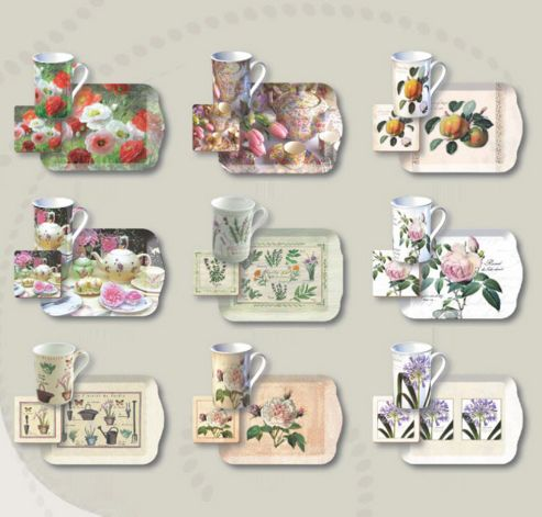 Katie Alice Cottage Flowers Time for Tea Gift Set