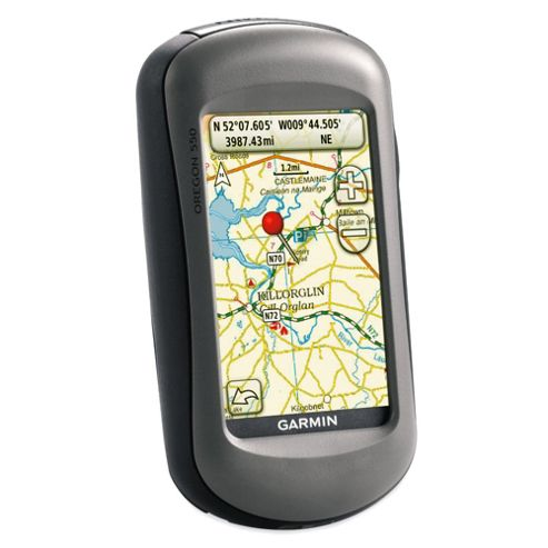 Garmin Oregon 550 GPS Handheld