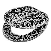 Tesco Damask Toilet Seat