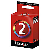 Lexmark 2 Colour Printer Ink Cartridge