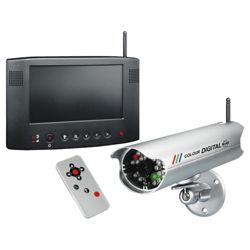 Byron colour wireless digital CCTV & 7