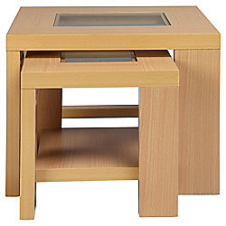 Buy Parma Nest Of 2 Tables Beech From Our Console amp Lamp