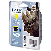 Epson T1004 Printer Ink Cartridge - Yellow