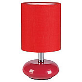Tesco Lighting Ceramic Table Lamp Red, Set Of 2