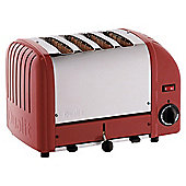 Dualit 40353 4 Slice Toaster - Red