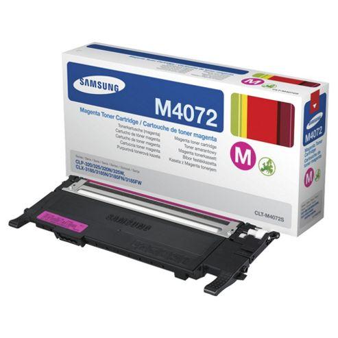 Samsung CLT-M4072S/ELS Laser Toner Cartridge - Magenta