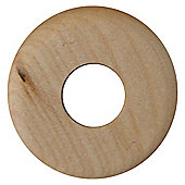 Westco real wood floor trim rosettes maple