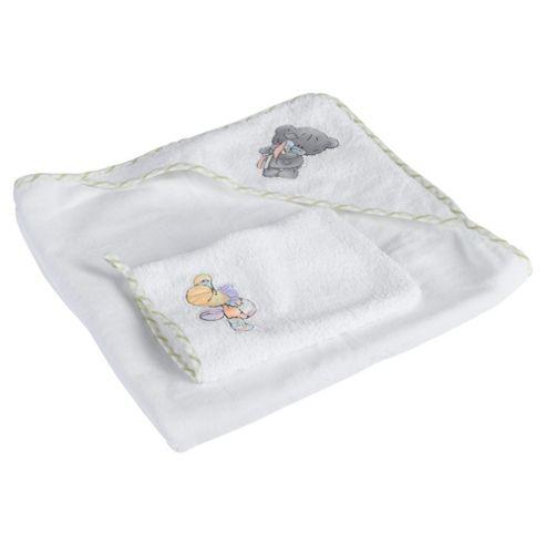 Tiny Tatty Teddy Hooded Towel & Mitt