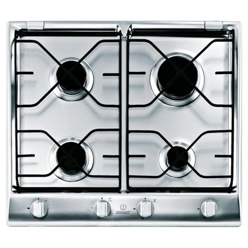 Indesit Prime Ip640Six Stainless Steel Gas Hob