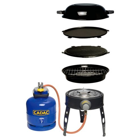 Cadac Safari Chef 4-in-1 30cm Gas BBQ