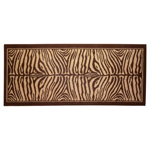 Tesco zebra runner 67x180cm Choc