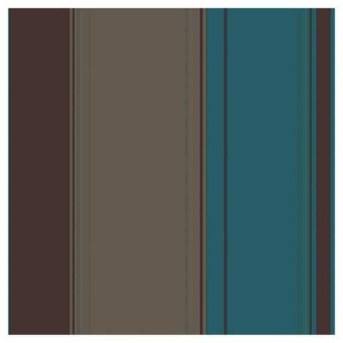 Arthouse Da Vinci stripe aqua wallpaper