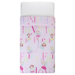 Tesco Kids Pretty Fairy Love Duvet Set