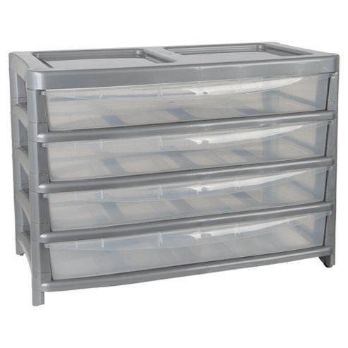 Thumbs Up 4 drawer extra large slimline tower